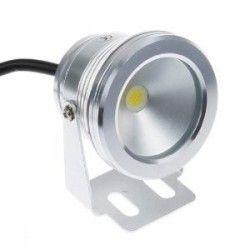 Flomlys 10W LED lyskaster - Varm hvit, vanntett