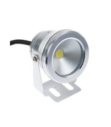 10W LED lyskaster - Varm hvit, vanntett