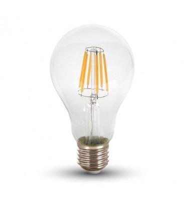Restsalg: V-Tac 10W LED pære - Karbon filamenter, A67, E27