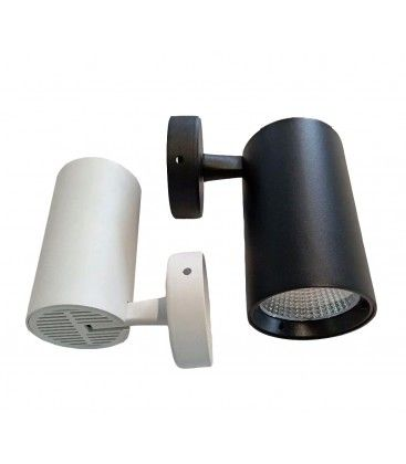 LEDlife hvit spotter 30W - Flicker free, RA90, vegg / tak montert