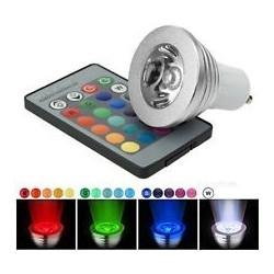 RGB3 LED spot - 3W, 230V, GU10