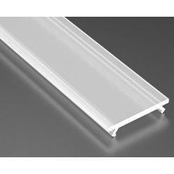 Aluminiumsprofiler Mattert deksel for aluprofil - 1 meter, passer Type A, C, D og Z