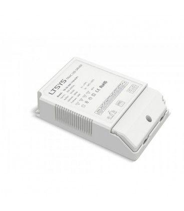 Ltech 50W dimbar driver til LED panel - Triac faseavsnittdimmer, passer våre 45W store LED paneler
