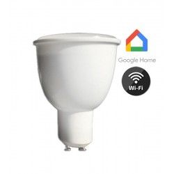 GU10 LED V-Tac 4,5W Smart Home LED spot - Virker med Google Home, Alexa og smartphones, 230V, GU10