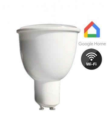 V-Tac 4,5W Smart Home LED spot - Virker med Google Home, Alexa og smartphones, 230V, GU10