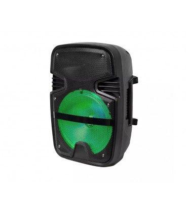 15W partyhøytaler - Oppladbart, Bluetooth, RGB, inkl. mikrofon