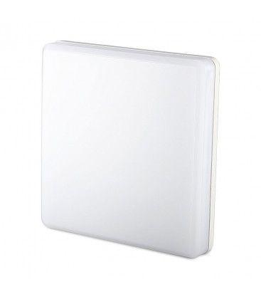 V-Tac 25W LED taklampe - IP44, 30x30cm, 230V, inkl. lyskilde