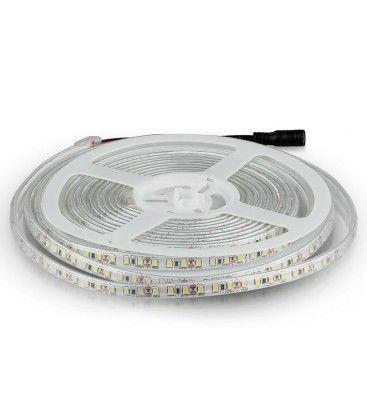 V-Tac 7,2W/m sprutsikker LED strip - 5m, 120 LED per meter