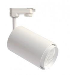 Lamper LEDlife hvit skinnespot 25W - Flicker free, 110lm/w, RA80, 3-faset, intern driver