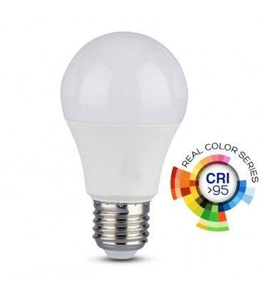 V-Tac 12W LED pære - A60, E27, RA 95