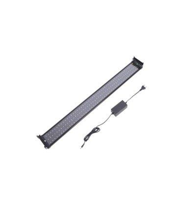 72-100 cm akvarie armatur - 18W LED, hvit/blå, justerbar