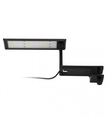 Akvarie lampe - 7W LED, hvit/blå, 19,5cm