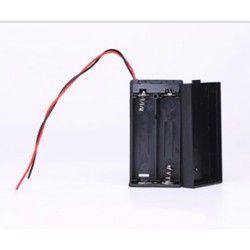 Diverse Batteriholder 2 x AA - 3V