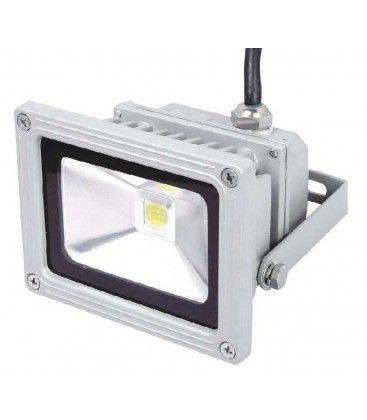 Dimbar 10W LED lyskaster - Varm hvit, arbeidslampe, utendørs