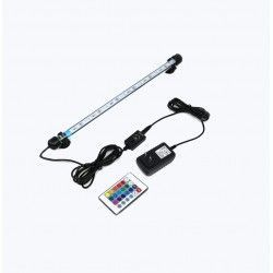 Lamper Akvarie armatur RGB 57cm - 6W LED, med sugekoppper, IP68