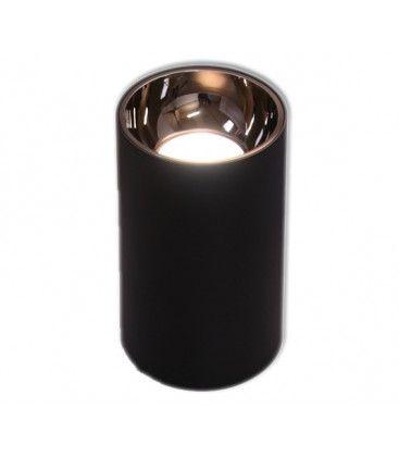 LEDlife ZOLO pendellampe - 12W, Cree LED, svart/gull, m. 1,2m kabel