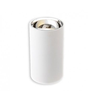 LEDlife ZOLO pendellampe - 12W, Cree LED, hvit/sølv, m. 1,2m kabel