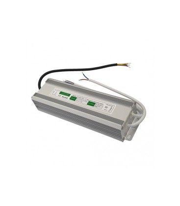 150W strømforsyning - 12V DC, 12,5A, IP67 vanntett