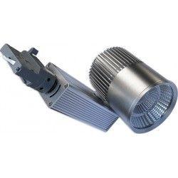 Lamper LEDlife grå skinnespot 30W - Philips COB, Flicker free, RA90, 3-faset