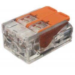 Transformator Skrueløs koblingsklemme til 2 ledninger