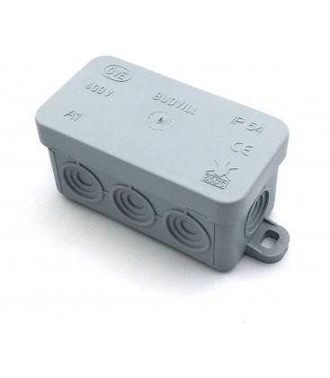 Koblingsboks - 8,5 x 4,5 x 4 cm, IP54 sprutsikker
