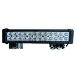 Flomlys 72W LED arbeidslys - Bil, lastebil, traktor, trailer, utrykningskjøretøyer, kald hvit, 12V / 24V