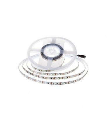 V-Tac 8W/m LED strip - 5m, 150lm/W, IP20, 24V, 126 LED per meter