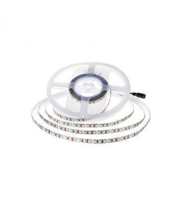 V-Tac 11W/m LED strip - 5m, 150lm/W, IP20, 24V, 168 LED per meter