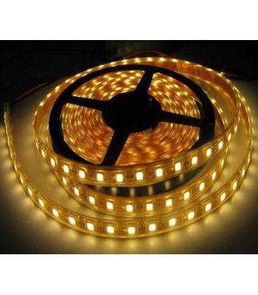 14W vanntett LED strip - 5m, IP68, 60 LED, 14W per meter