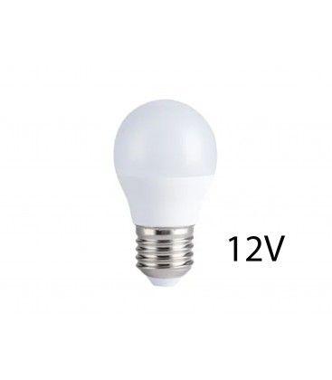 4W LED pære - G45, E27, 12V