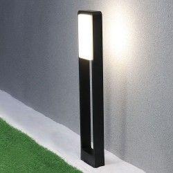 V-Tac 10W LED hagelampe - Svart, 80 cm, IP65, 230V