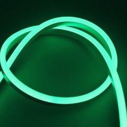 230V Neon Flex Grønn 8x16 Neon Flex LED - 8W per meter, IP67, 230V