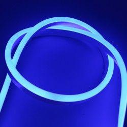 230V Neon Flex Blå 8x16 Neon Flex LED - 8W per meter, IP67, 230V