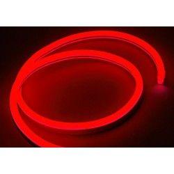 230V Neon Flex 8x16 Neon Flex LED - 8W per meter, rød, IP67, 230V