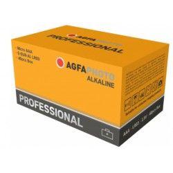 Batterier AAA 40-pak AgfaPhoto Professional batteri - Alkaline, 1,5V