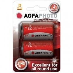 Batterier D/MN1300 2-pak AgfaPhoto batteri - Alkaline, 1,5V
