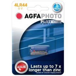 Batterier 4LR44 1 stk AgfaPhoto batteri - Alkaline, 6V