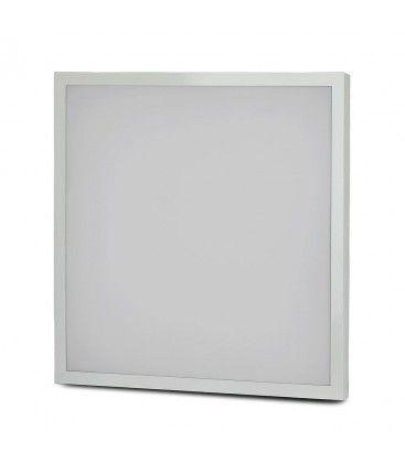 V-Tac 60x60 LED panel - 40W, 3200lm, innebygd i hvit ramme