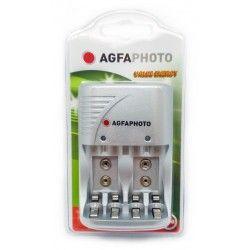 Batterier 1 stk AgfaPhoto opplader - til oppladbartt batteri