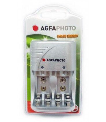 1 stk AgfaPhoto opplader - til oppladbartt batteri