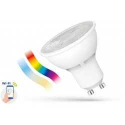 GU10 LED 5W Smart Home LED pære - Google Home, Amazon Alexa kompatibel, GU10