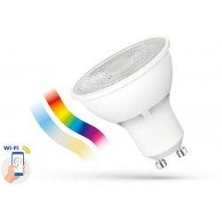 5W Smart Home LED pære - Google Home, Amazon Alexa kompatibel, GU10