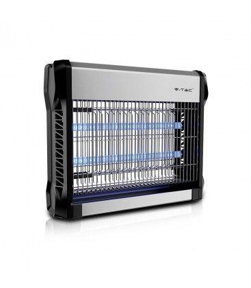 V-Tac elektrisk insekt dreper - 2x8W, innendørs, UV-lys, dækker 50m2