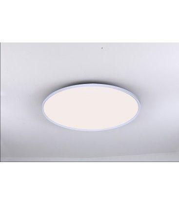 LEDlife 40W LED rundt panel - 100 lm/W, Ø60, hvit, inkl. monteringsbrakett
