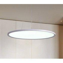 Taklamper LEDlife 40W LED rundt panel - 100 lm/W, Ø60, hvit, inkl. wireoppheng