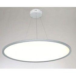 Store paneler LEDlife 40W LED rundt panel - 100 lm/W, Ø60, hvit, inkl. wireoppheng
