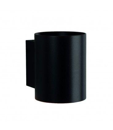 LED svart rund vegglamper - Med G9 fatning, IP20 innendørs, 230V, uten lyskilde