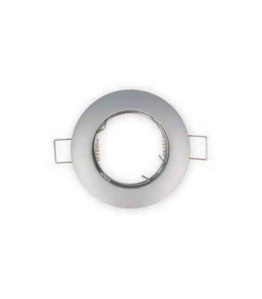 Downlight kit uten lyskilde - Hull: Ø6,5 cm, Mål: Ø7,7 cm, børstet stål, velg MR11 eller mini GU10