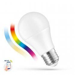 LED lyskilder 9W Smart Home LED pære - Verker med Google Home, Alexa og smartphones, E27, A60