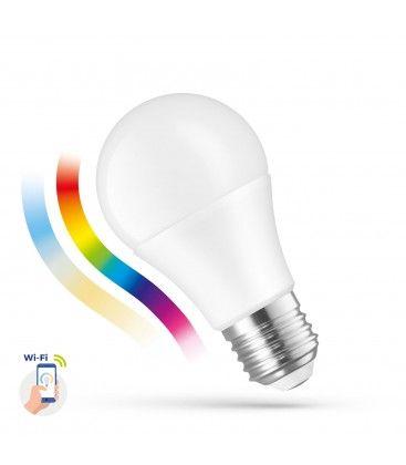 9W Smart Home LED pære - Verker med Google Home, Alexa og smartphones, E27, A60
